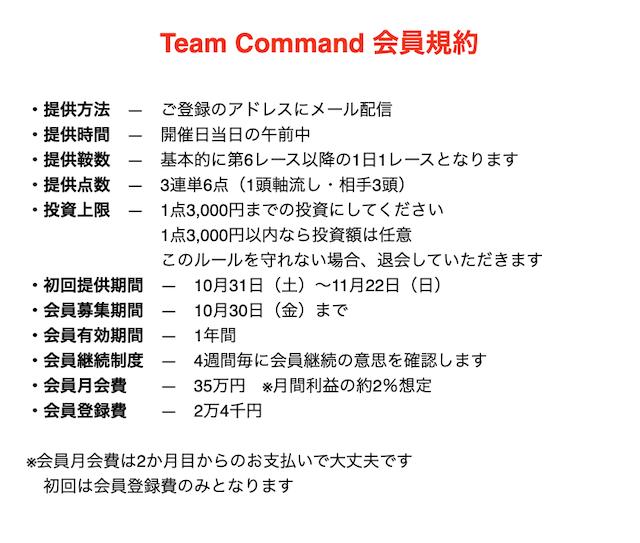 Team command有料